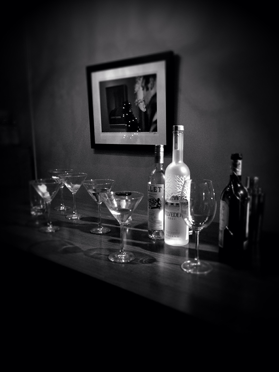 Client beverages after the actual shoot in NYC...