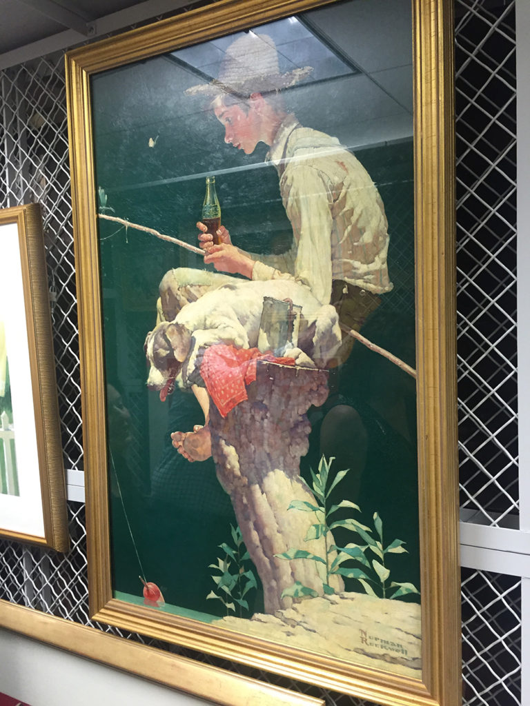 Justa a $30M Norman Rockwell painting hanging around...
