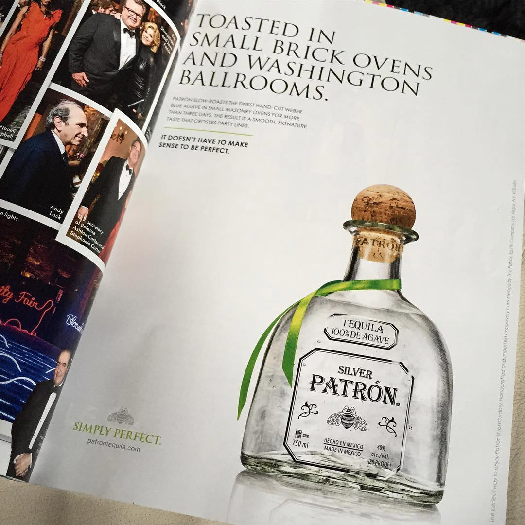 My Patron shot doing the rounds...